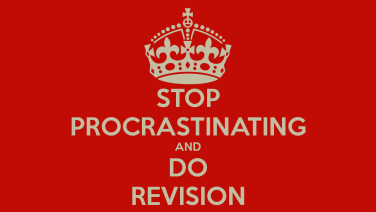 stop-procrastinating-and-do-revision