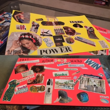 vision board daughter